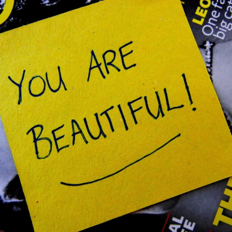 You don't know you're beautiful!