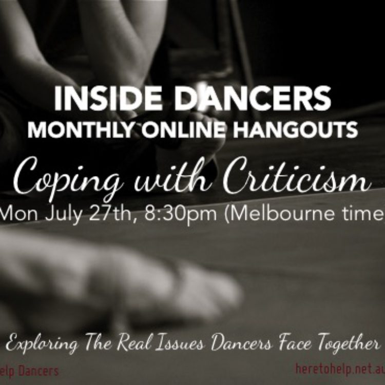 Coping with Criticism Hangout